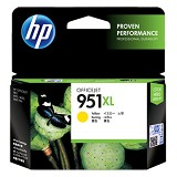 HP Yellow Ink Cartridge 951XL [CN048AA] - Tinta Printer HP